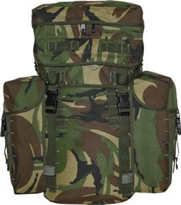 British Army Patrol  bag Nos conseils