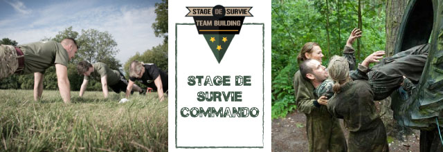 sds commando Stage de survie