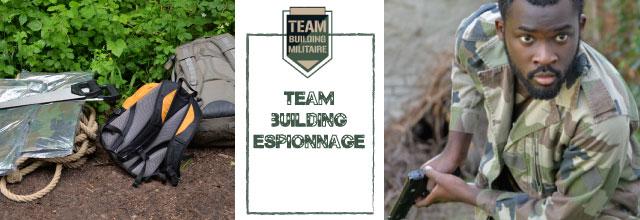 sds espionnage Team building militaire et team building espionnage