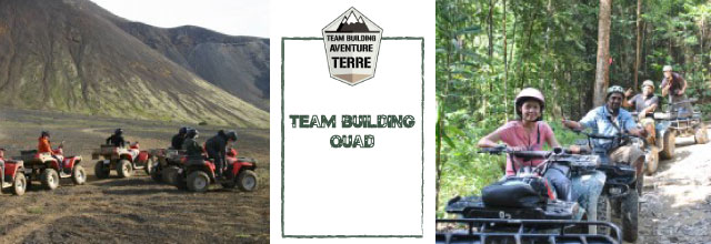 Team building Quad Aventure
