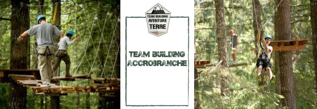 Team building accrobranche Aventure