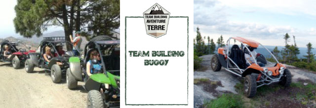 Team building buggy Aventure