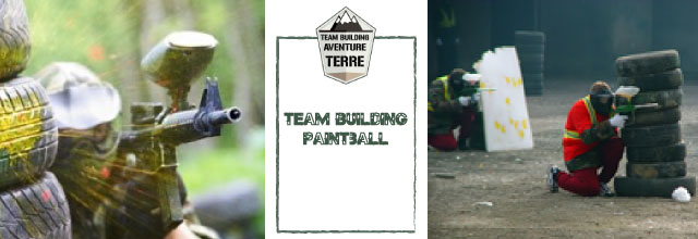 Team building paintball Aventure