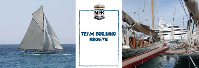 Team building regate Team Building Mer