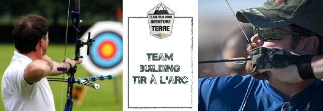 Team building tir a larc Aventure