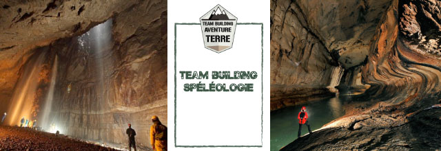 team building speleologie Team Building Spéléologie : Explorez les passages souterrains !