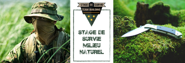 sds nature Stage de survie
