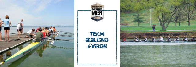 team building aviron1 Aventure