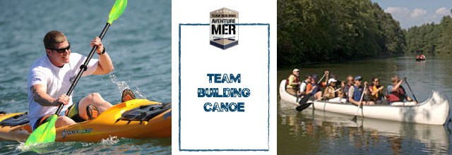 team building canoe def Team Building Mer